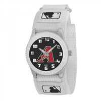 Arizona Diamondbacks MLB Kids Rookie Series Watch (White)