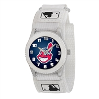 Cleveland Indians MLB Kids Rookie Series Watch (White)