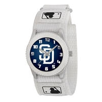 San Diego Padres MLB Kids Rookie Series Watch (White)
