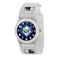 Tampa Bay Rays MLB Kids Rookie Series Watch (White)