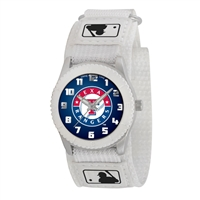 Texas Rangers MLB Kids Rookie Series Watch (White)