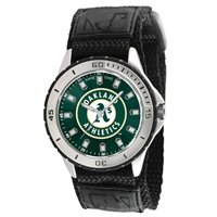 Oakland Athletics MLB Mens Veteran Series Watch