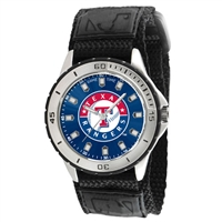 Texas Rangers MLB Mens Veteran Series Watch