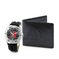 Arizona Diamondbacks MLB Men's Watch & Wallet Set