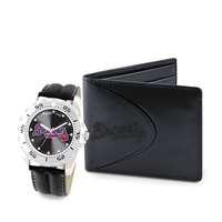 Atlanta Braves MLB Men's Watch & Wallet Set