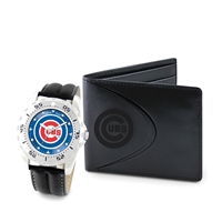 Chicago Cubs MLB Men's Watch & Wallet Set