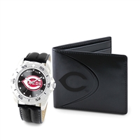 Cincinnati Reds MLB Men's Watch & Wallet Set