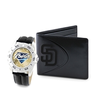 San Diego Padres MLB Men's Watch & Wallet Set