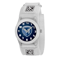 Kansas City Sporting MLS Kids Rookie Series Watch (White)
