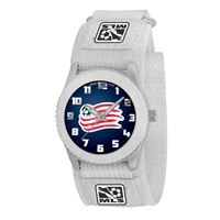New England Revolution MLS Kids Rookie Series Watch (White)