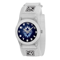 Vancouver WhiteCaps FC MLS Kids Rookie Series Watch (White)
