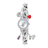 Miami Heat NBA Women's Charm Series Watch