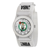 Boston Celtics NBA Kids Rookie Series Watch (White)