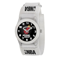Miami Heat NBA Kids Rookie Series Watch (White)