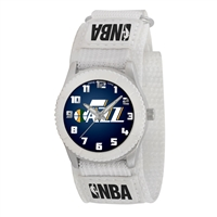 Utah Jazz NBA Kids Rookie Series Watch (White)