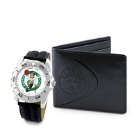 Boston Celtics NBA Men's Watch & Wallet Set