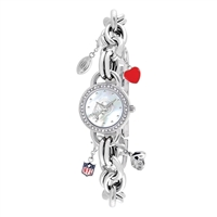 Washington Redskins NFL Women's Charm Series Watch