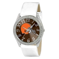 Cleveland Browns NFL Ladies Glitz Series Watch