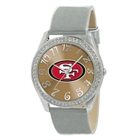 San Francisco 49ers NFL Ladies Glitz Series Watch