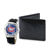 Montreal Canadiens NHL Men's Watch & Wallet Set