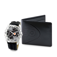 Philadelphia Flyers NHL Men's Watch & Wallet Set