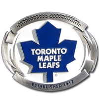 Toronto Maple Leafs NHL Belt Buckle