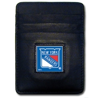 NHL Money Clip/Cardholder - New York Rangers