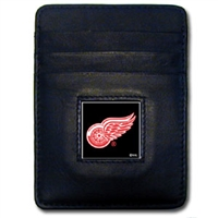 NHL Money Clip/Cardholder - Detroit Red Wings