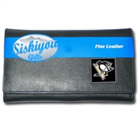 NHL Female Wallet - Pittsburgh Penguins