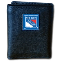 New York Rangers NHL Trifold Wallet in Tin