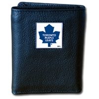 NHL Trifold Wallet in Box - Toronto Maple Leafs