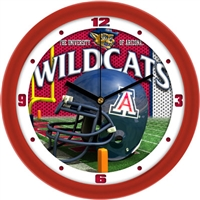 "Arizona Wildcats 12"" Football Helmet Wall Clock"