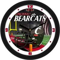 "Cincinnati Bearcats 12"" Football Helmet Wall Clock"