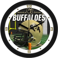 "Colorado Buffaloes 12"" Football Helmet Wall Clock"