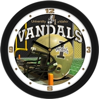 "Idaho Vandals 12"" Football Helmet Wall Clock"