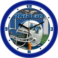 "Middle Tennessee State (MTSU) Blue Raiders 12"" Football Helmet Wall Clock"