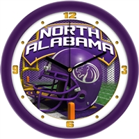 "North Alabama Lions UNA 12"" Helmet Wall Clock"