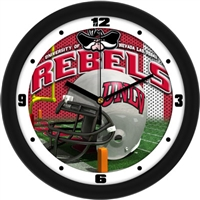 "UNLV Runnin' Rebels 12"" Football Helmet Wall Clock"