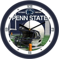 "Penn State Nittany Lions 12"" Football Helmet Wall Clock"