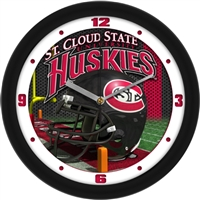 "St. Cloud State Huskies 12"" Football Helmet Wall Clock"