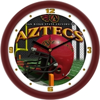 "San Diego State Aztecs 12"" Football Helmet Wall Clock"
