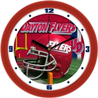 "Dayton Flyers 12"" Football Helmet Wall Clock"