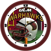 "Louisiana Monroe (ULM) Warhawks 12"" Football Helmet Wall Clock"
