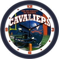 "Virginia Cavaliers 12"" Football Helmet Wall Clock"