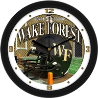 "Wake Forest Demon Deacons 12"" Football Helmet Wall Clock"