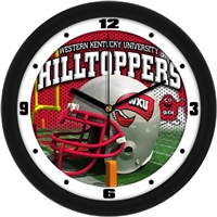 "Western Kentucky Hilltoppers 12"" Football Helmet Wall Clock"