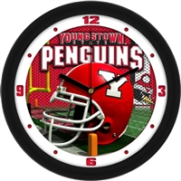 "Youngstown State Penguins 12"" Football Helmet Wall Clock"