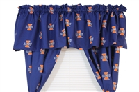 "Illinois Fighting Illini Printed Curtain Valance - 84"" x 15"""
