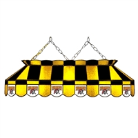 Pittsburgh Pirates MLB 40 Inch Billiards Stained Glass Lamp