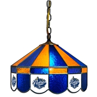 San Diego Padres MLB 16 Inch Billiards Stained Glass Lamp